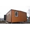 Дачный домик 6 м х 4, 9 м х 2, 6 м полностью из вагонки.