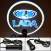 Лазерная проекция авто в двери