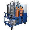 Очистка турбинных масел без нагрева установками ВГБ-1000,  ВГБ-2000,  ВГБ-3000