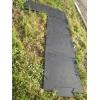 Сборная садовая дорожка из резиновых модулей.