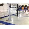 Сборный пластиковый пол для цеха и гаража