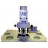 Швейное оборудование - электрический трехпозиционный пресс для установки фурнитуры.