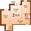 2 эт Продам 2 комн,  в новом доме индивидуальной планировки,  в 3 Заречном мкр.  Закрытый двор,  охрана,  видеонаблюдение,  подз