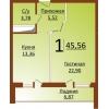 5,  6,  7эт Продам 1 комн,  в новом доме индивидуальной планировки,  в 3 Заречном мкр.  Закрытый двор,  охрана,  видеонаблюдение
