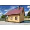 Дачный дом из бруса 6*6+2 работа + материалы